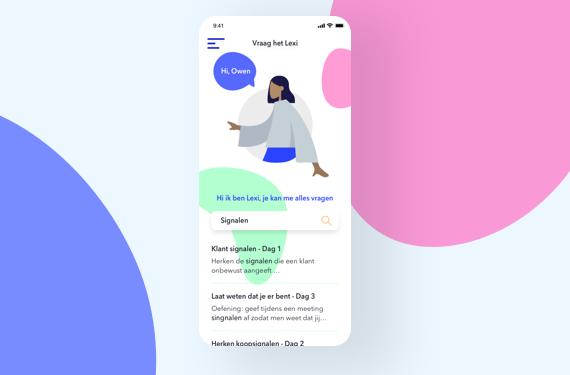 App redesign - Excellior